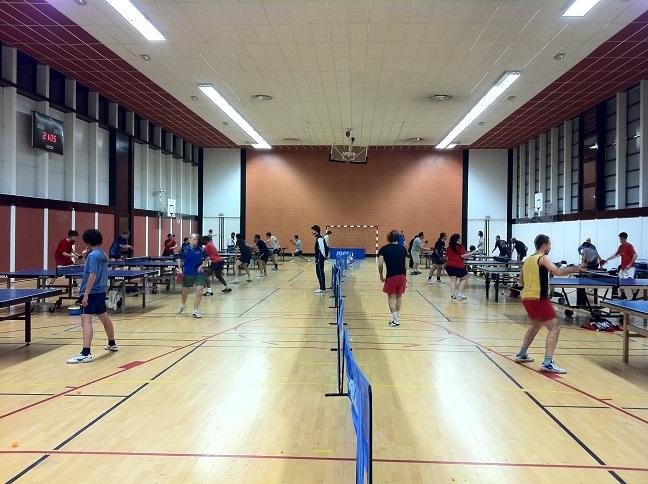 Horaires des entra nements et salles du club julien - Julien lacroix tennis de table ...